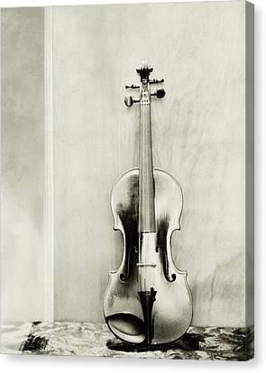 A Violin Canvas Print