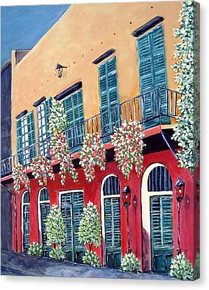 A Visit To New Orleans Canvas Print by Suzanne Theis
