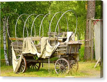 A Wagon Canvas Print