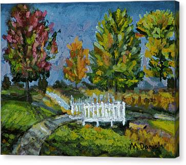 A Walk In The Park Canvas Print by Michael Daniels