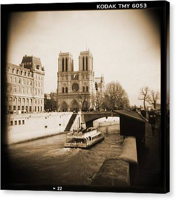A Walk Through Paris 22 Canvas Print by Mike McGlothlen