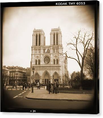 A Walk Through Paris 24 Canvas Print by Mike McGlothlen