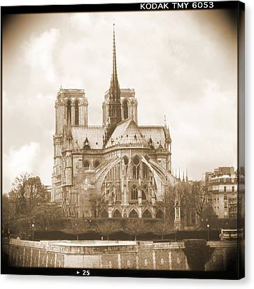A Walk Through Paris 25 Canvas Print by Mike McGlothlen