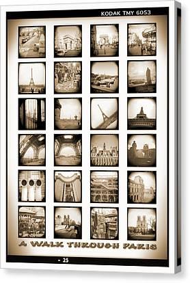 A Walk Through Paris Canvas Print by Mike McGlothlen