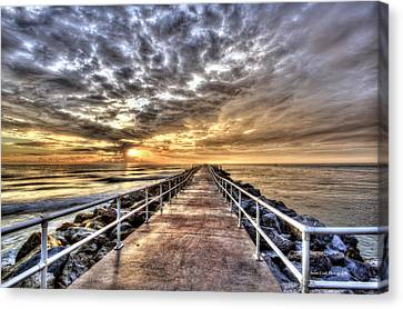 A Walk To The Horizon Canvas Print by Brent Craft