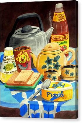 A Warm Breakfast Canvas Print by Adam Wai Hou