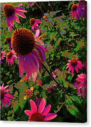 Canvas Print featuring the photograph A Warm Spring by Diane Miller