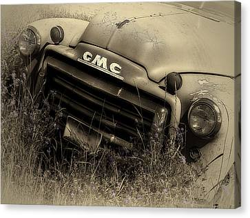 A Weather-beaten Classic Canvas Print