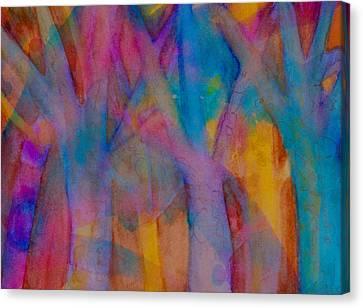 A Welling Of Joy Canvas Print