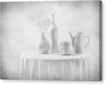 A White Dream Canvas Print