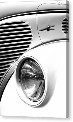 A White V8 Canvas Print by Paul W Faust -  Impressions of Light