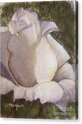 A Whiter Shade Of Pale Canvas Print by Laurie Morgan