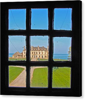 Canvas Print featuring the photograph A Window To The Past by Kathleen Scanlan