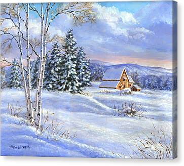 A Winter Afternoon Canvas Print