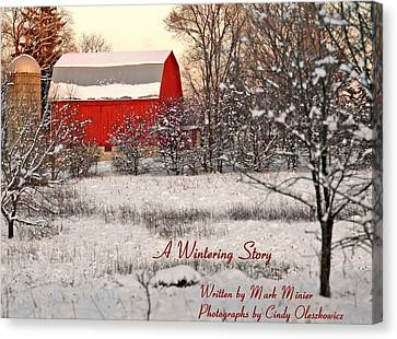 A Wintering Story Canvas Print by Mark Minier