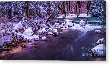 a winter's tale II - hdr Canvas Print by Hannes Cmarits