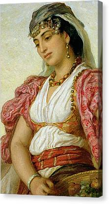 A Woman From Algiers Canvas Print