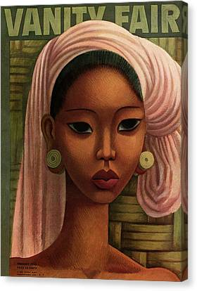A Woman From Bali Canvas Print