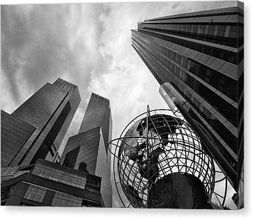 A World Of Skyscrapers Canvas Print