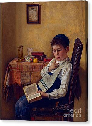 A Yeshiva Boy Canvas Print by Celestial Images