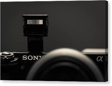 Canvas Print featuring the photograph a6000 Sony by Wade Brooks