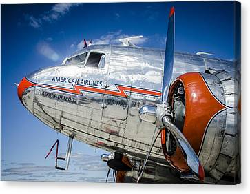 Aa Dc3 Flagship Detroit Canvas Print