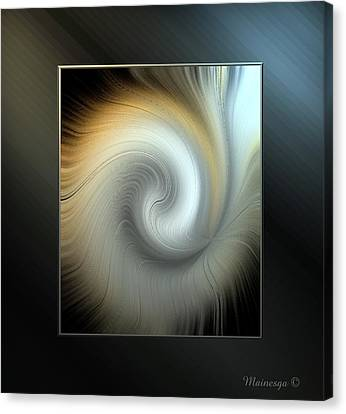 Ab-swirl Canvas Print by Ines Garay-Colomba