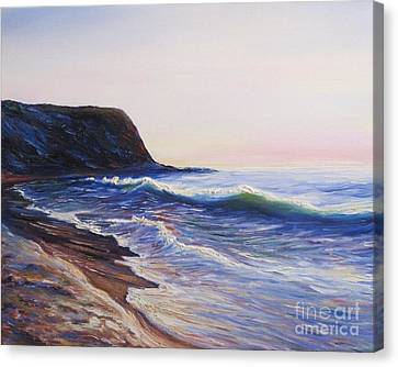 Palos Verdes Cove Canvas Print - Abalone Cove by Frederick  Luff