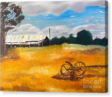 Abandon Farm Canvas Print