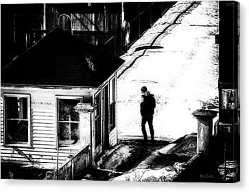 Abandon Guard House Canvas Print