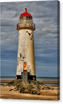 Abandoned Canvas Print by Adrian Evans