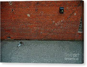 Abandoned Alley Canvas Print by Bob Stone