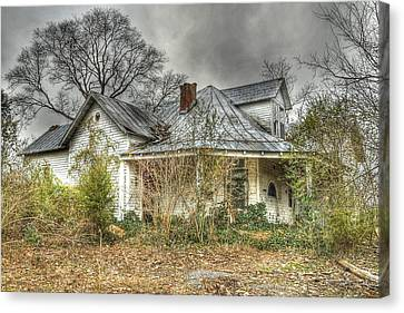 Abandoned And Forgotten Canvas Print by Brett Engle
