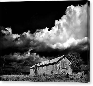 Abandoned Canvas Print by Arne Hansen