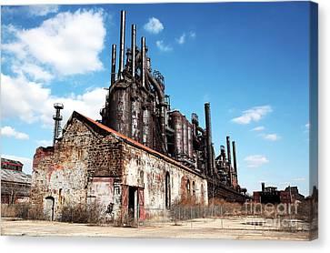 Abandoned Bethlehem Steel Canvas Print