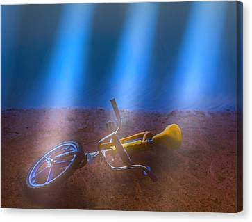 Abandoned Bike Canvas Print by Kellice Swaggerty