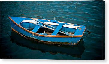 Abandoned Boat Canvas Print by Frank Tschakert
