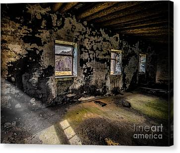 Abandoned Building Canvas Print by Adrian Evans