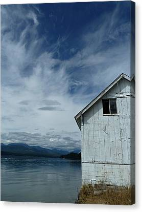 Abandoned By The Water Canvas Print by Patricia Strand