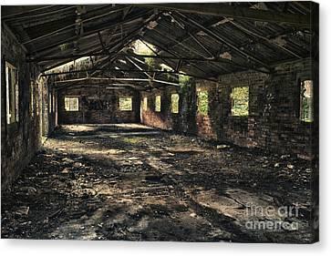 Abandoned Canvas Print by Amanda Elwell