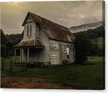 Abandoned Faith Canvas Print