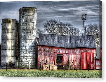 Abandoned Farm New Jersey Canvas Print