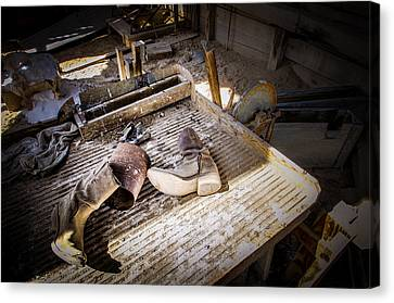 Abandoned Gold Mine Canvas Print by Scott McGuire