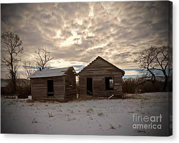 Abandoned History Canvas Print