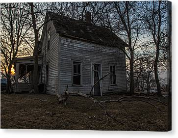 Abandoned Home Canvas Print by Aaron J Groen