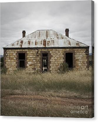 Abandoned Home Canvas Print by Kelly Jones