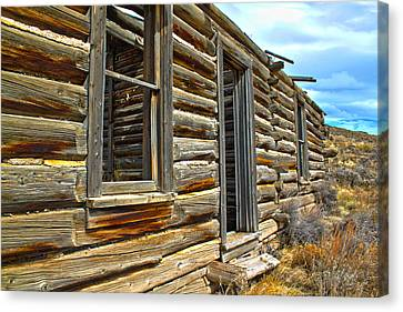 Abandoned Homestead Canvas Print by Shane Bechler
