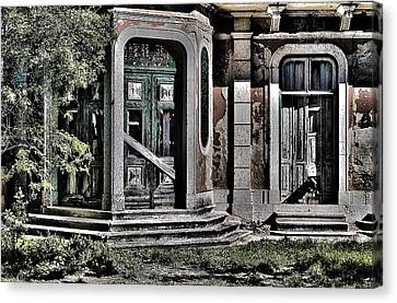 Abandoned House Canvas Print - Abandoned House by Marco Oliveira