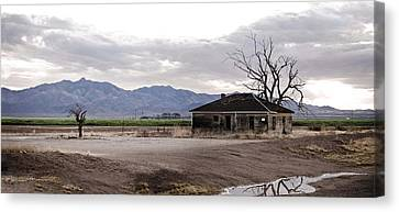 Abandoned House Canvas Print by Swift Family