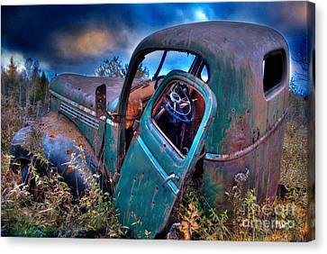Abandoned II Canvas Print by Alana Ranney
